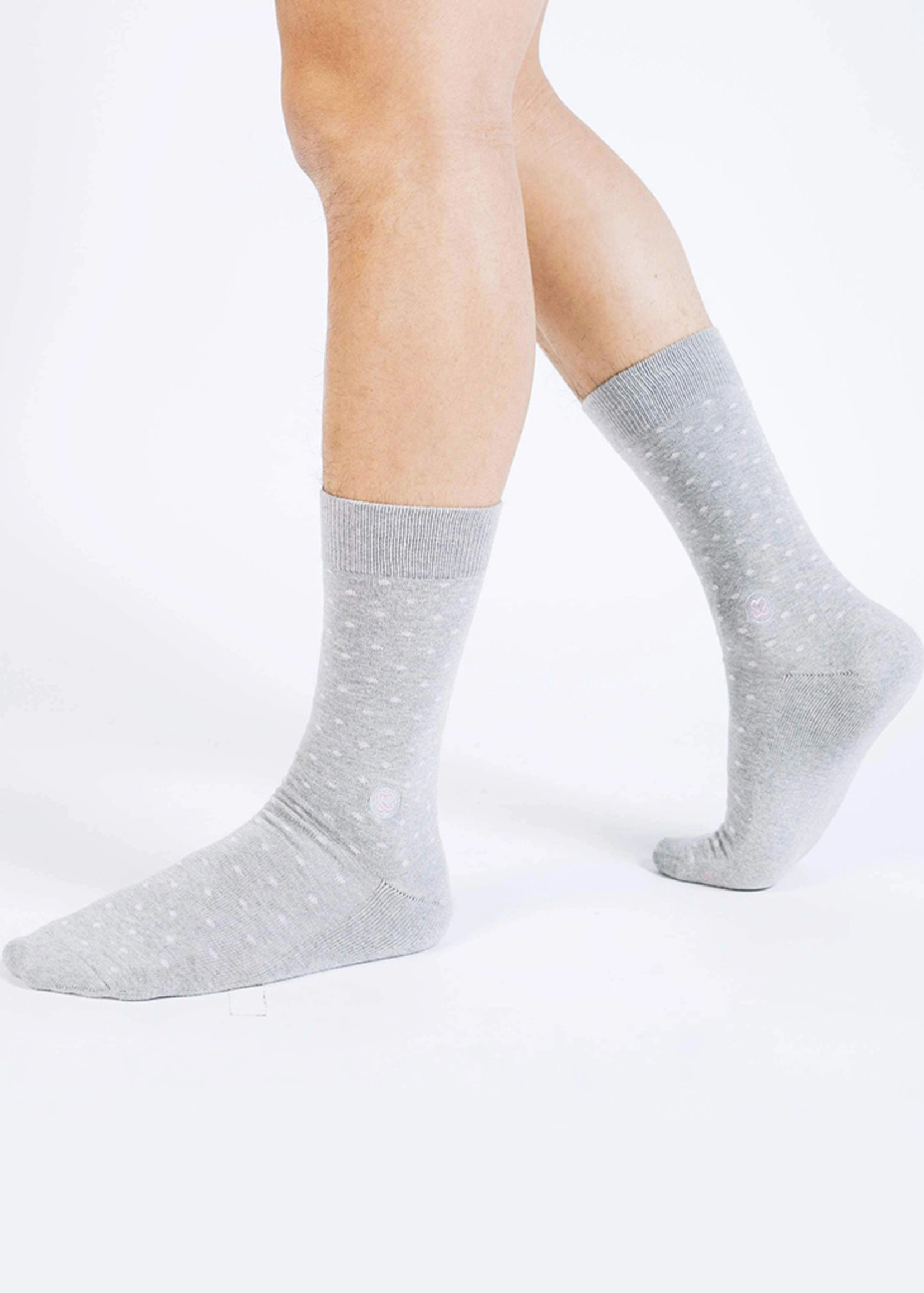 Conscious Step Men's Socks That Promote Breast Cancer Prevention