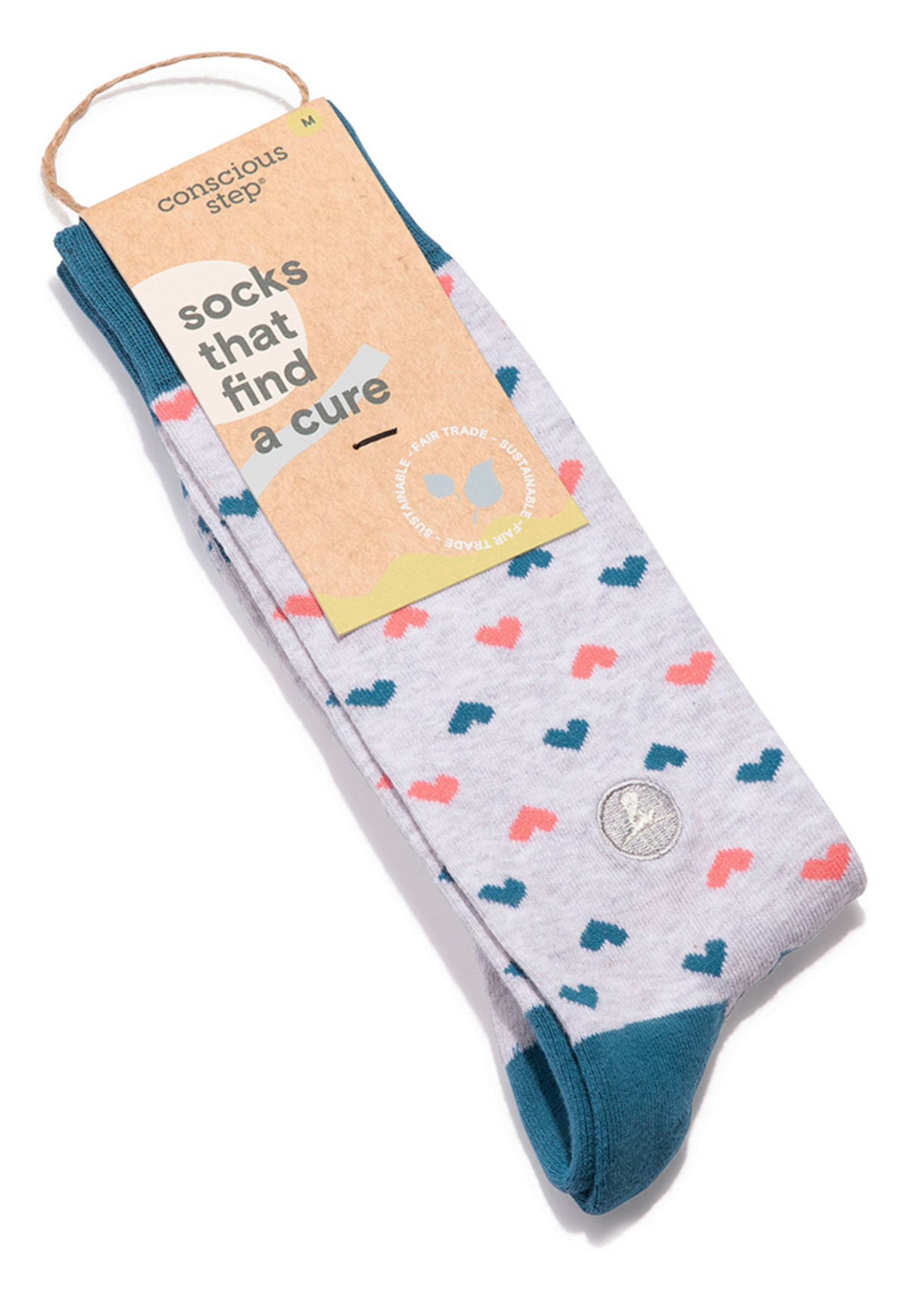 Conscious Step Women's Socks That Find a Cure
