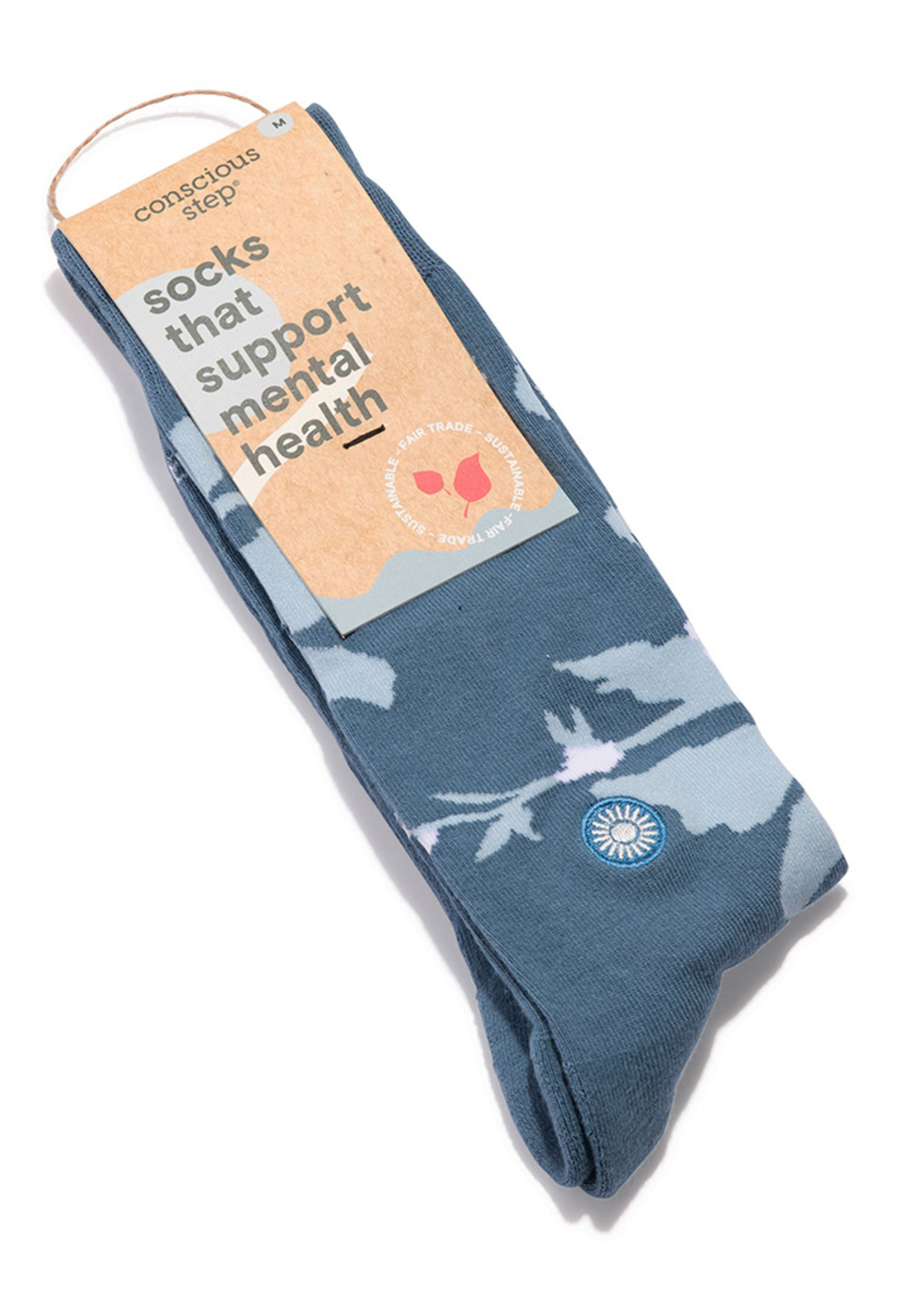 Conscious Step Men's Socks That Supports Mental Health