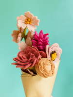 Global Goods Partners Pretty in Pink Flower Bouquet