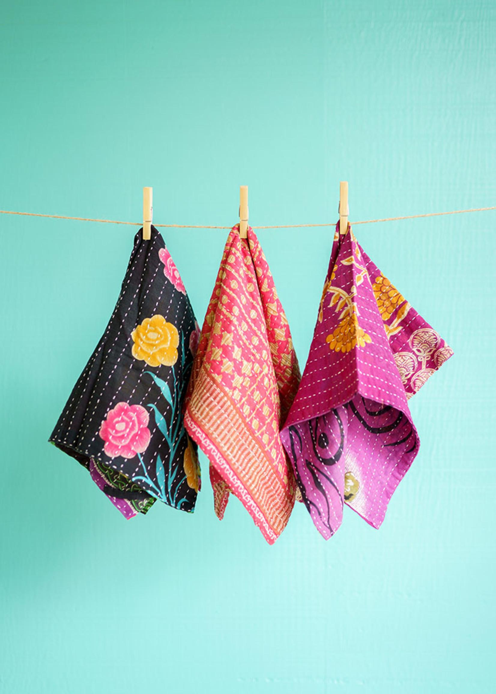 Kantha Dish Towel Set