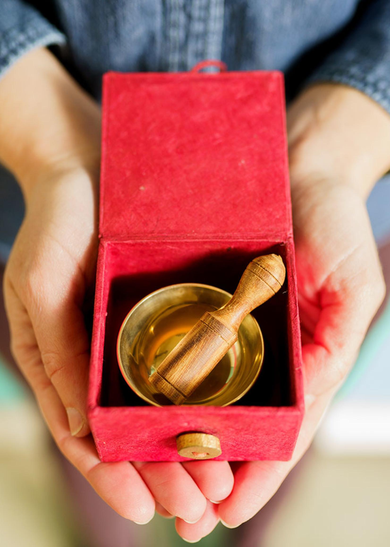 dZi Orange Sacral Chakra Mini Meditation Bowl