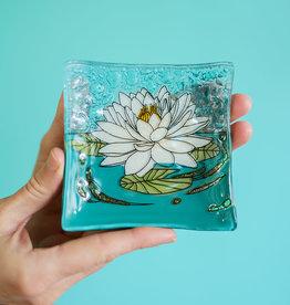 Lotus Square Dish