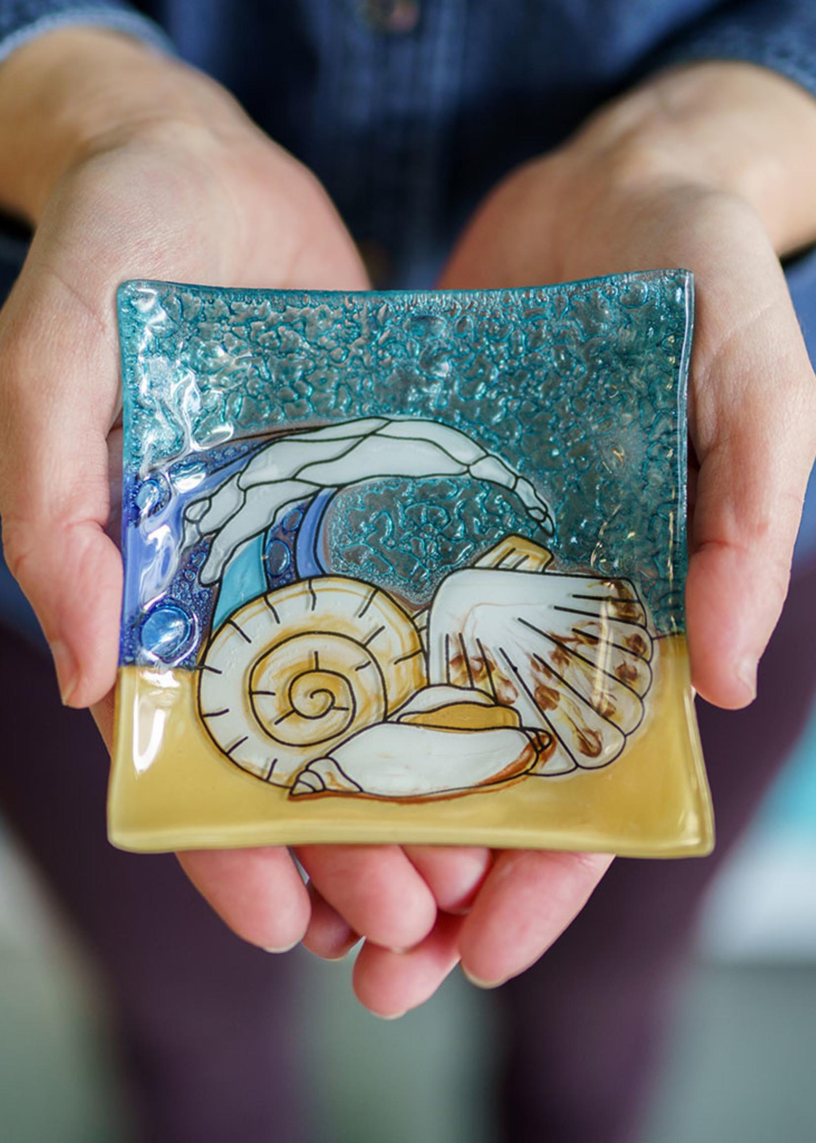 Sea Shell Square Dish