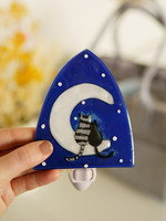 Cats & Moon Night Light