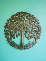 Beyond Borders Circle Tree of Life Metal Art