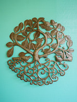Beyond Borders Kabbalah Tree Metal Art