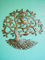 Beyond Borders Gentle Breeze Tree Metal Art