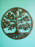 Beyond Borders Tree Of Life  Metal Art