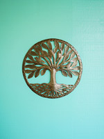 Beyond Borders Traveler's Tree Metal Art