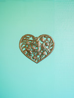 Garden Heart Metal Art
