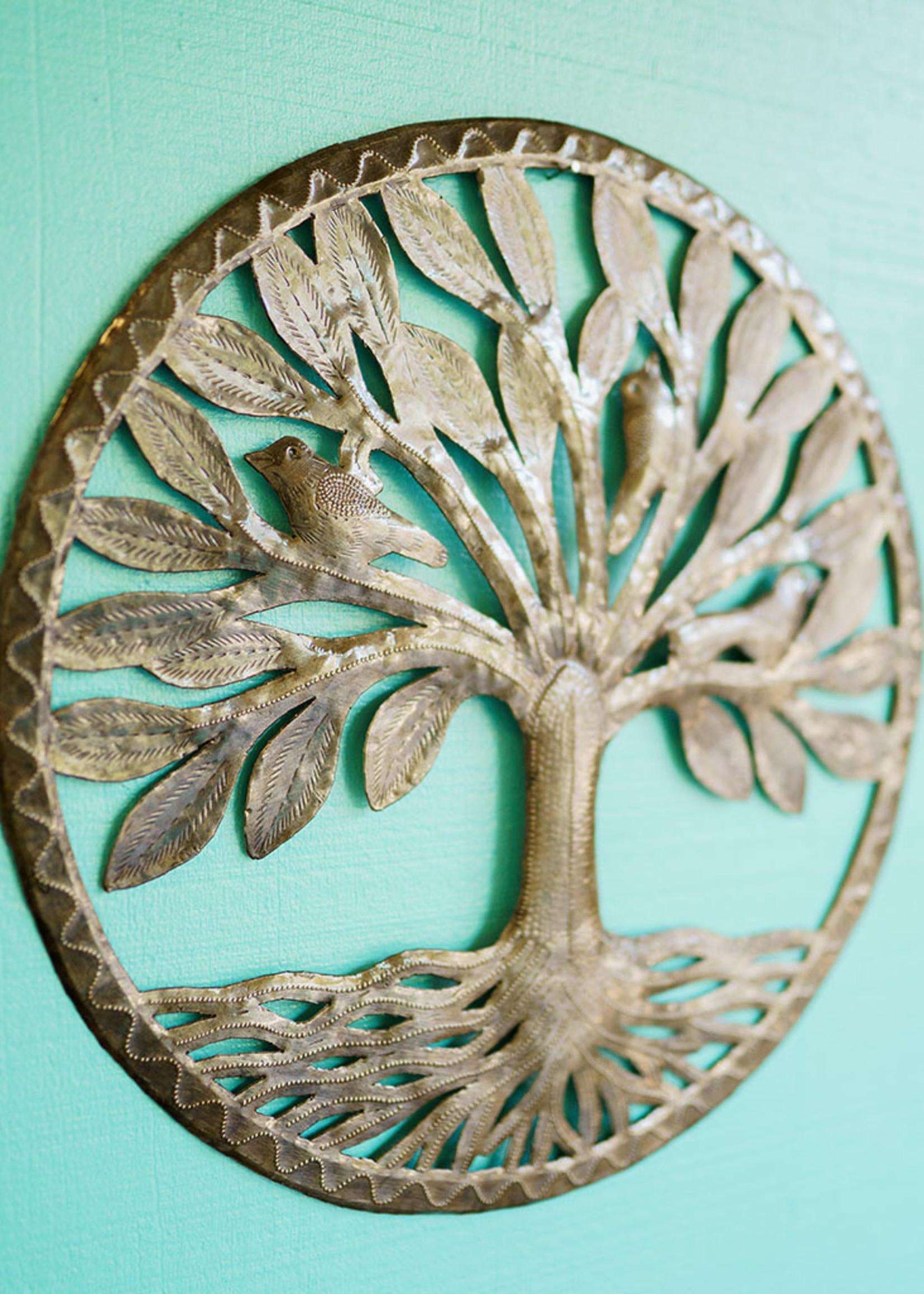 Beyond Borders Traveler's Tree Metal Art