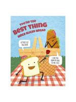 Good Paper Sliced Bread Love Card
