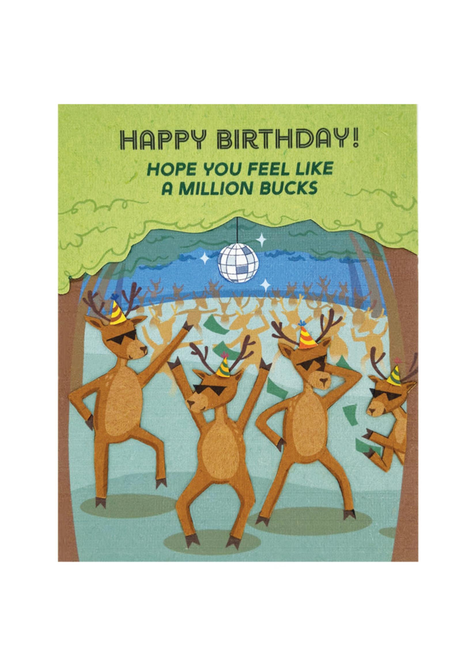 Good Paper Million Bucks Birthday Card