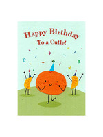 Good Paper Cutie Birthday Card