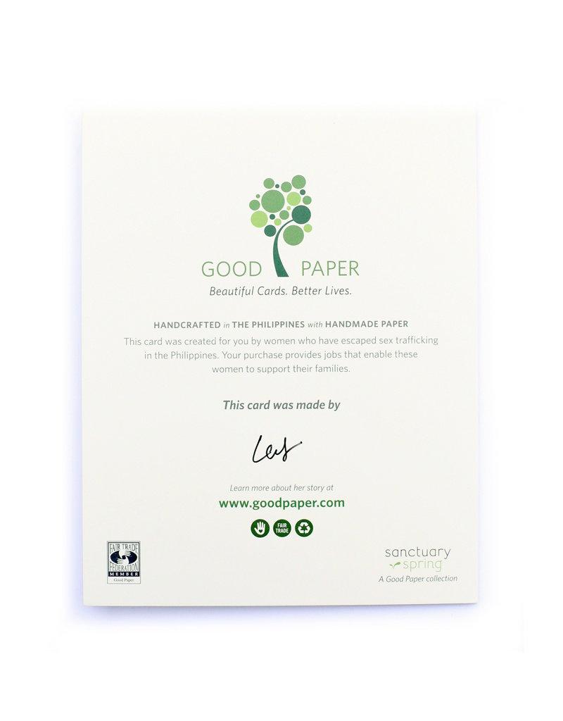 Good Paper Kick It Card