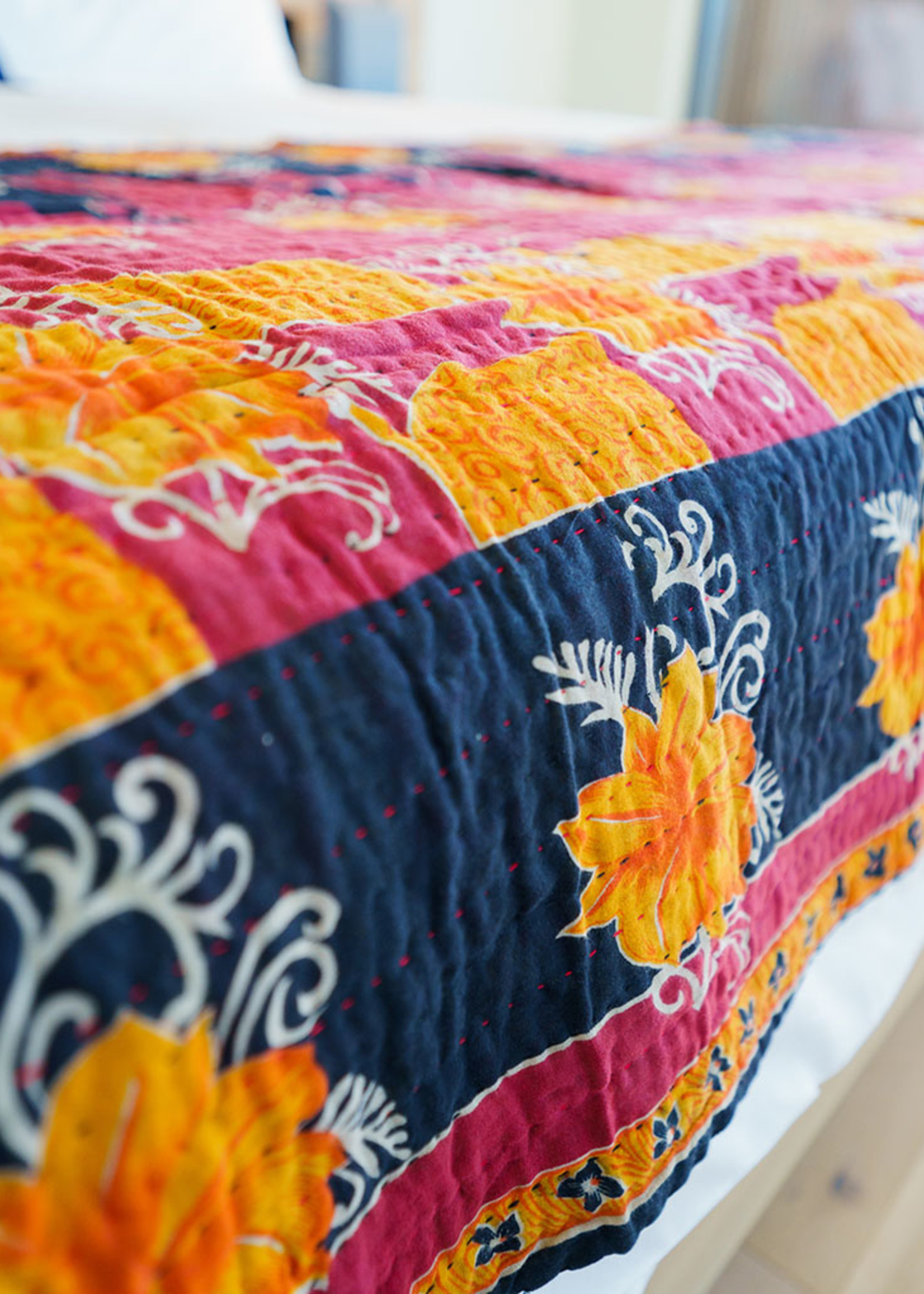 Prokritee Sari Throw Blanket