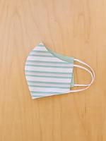 Malia Designs Minty Stripes Face Mask