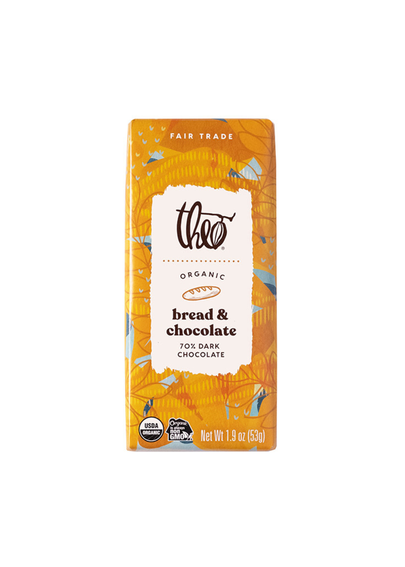 Theo Chocolate Bread & Chocolate Bar
