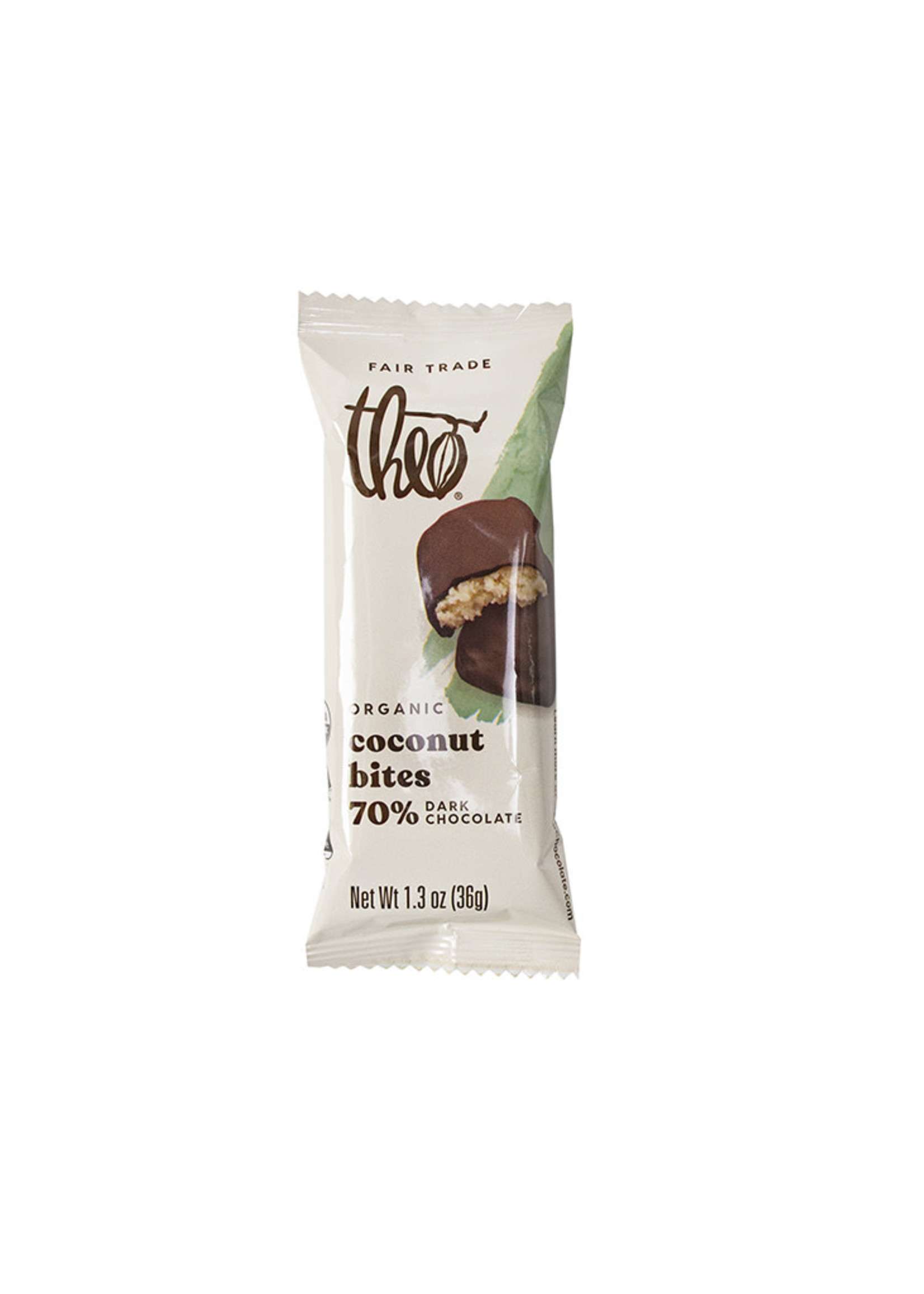 Theo Chocolate Coconut Chocolate Bites
