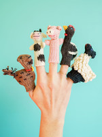 Lucuma Designs Farm Animals Finger Puppet Set