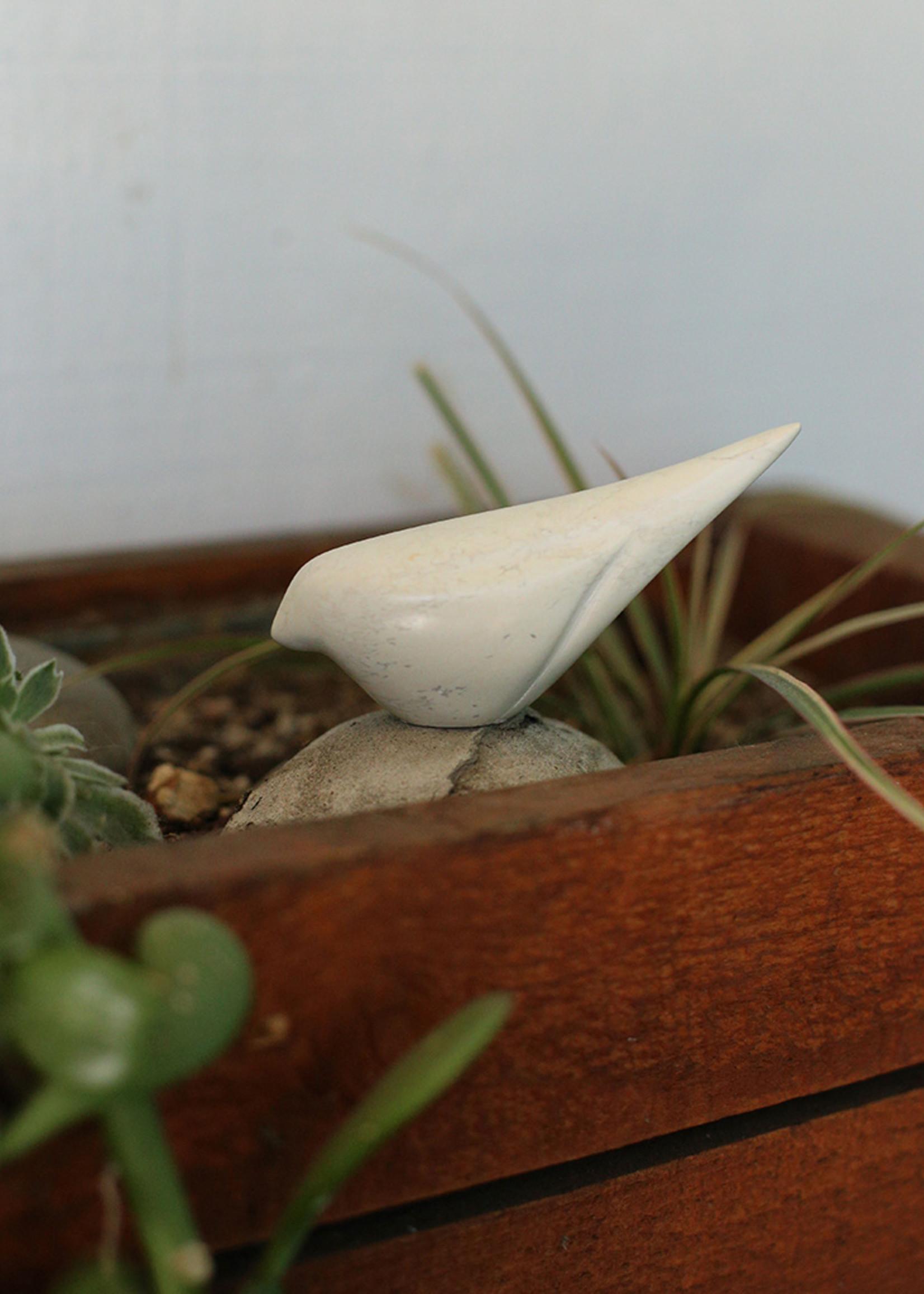 Natural Soapstone Bird