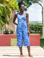 Global Mamas Canopy Blue Jumpsuit