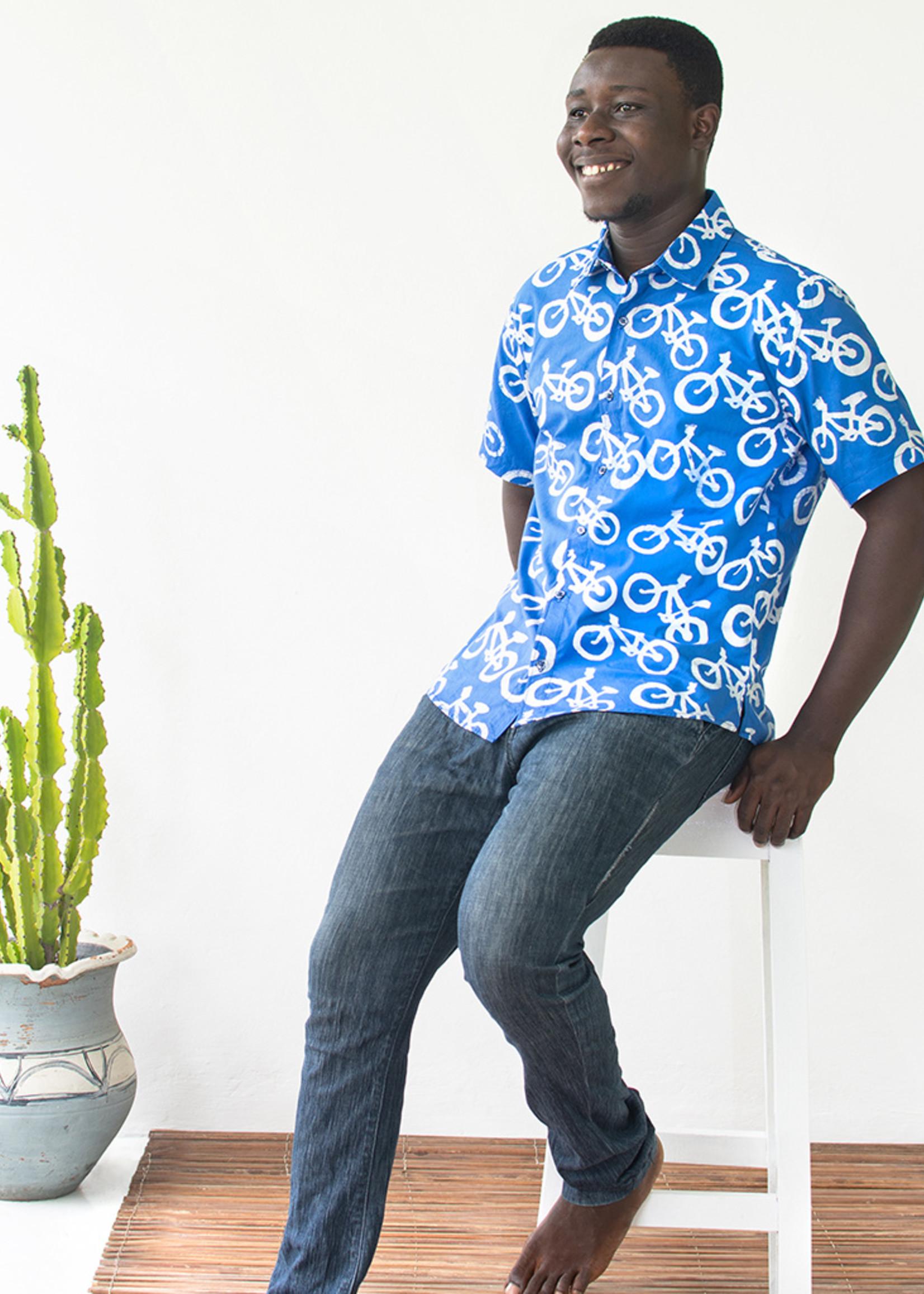 Global Mamas Blue Bikes Shirt