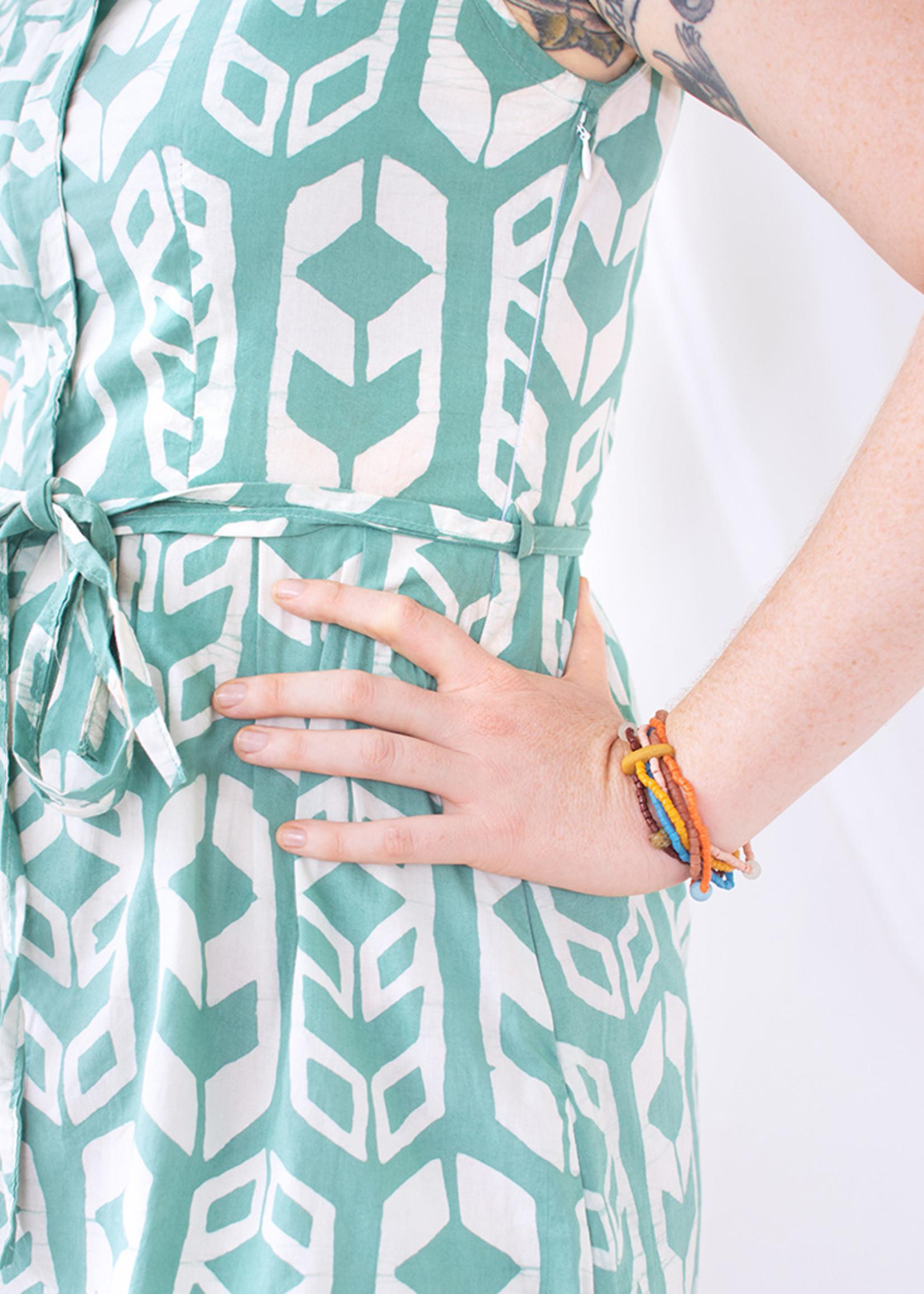 Global Mamas Sage Shields Retro Dress