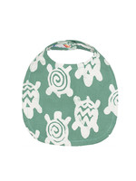 Global Mamas Sage Green Turtle Bib