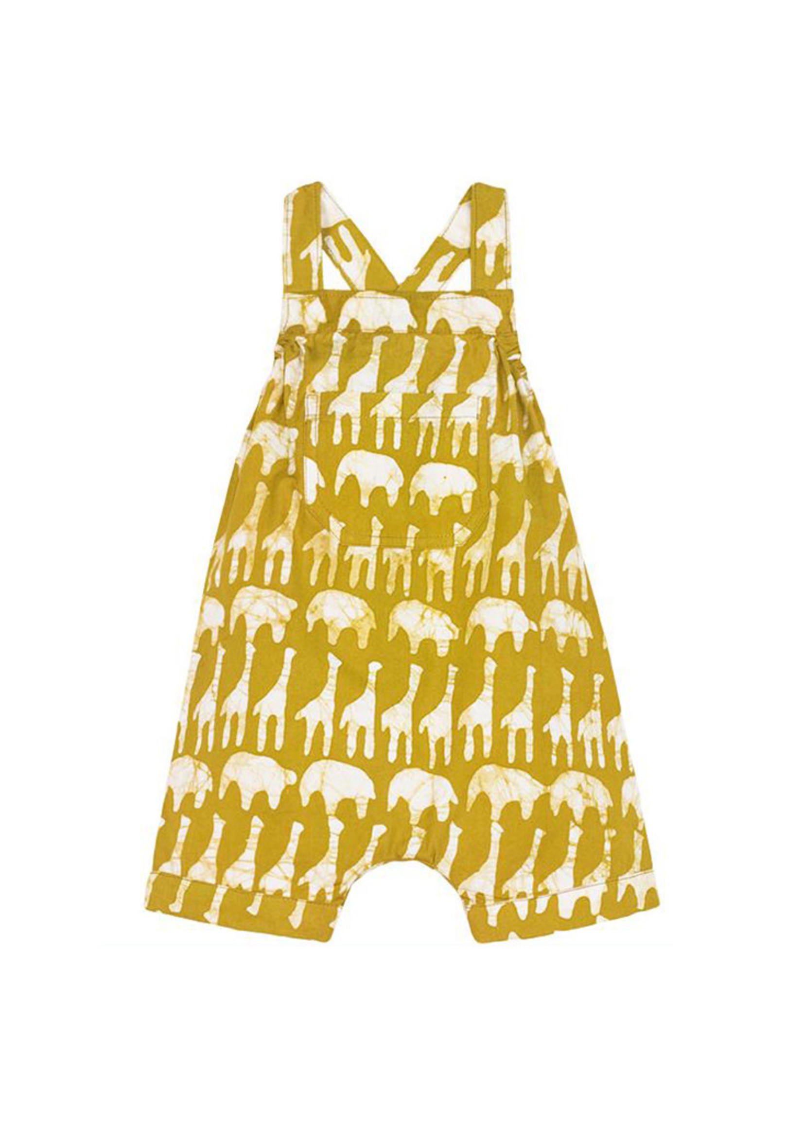 Global Mamas Sahara Mustard Baby Romper
