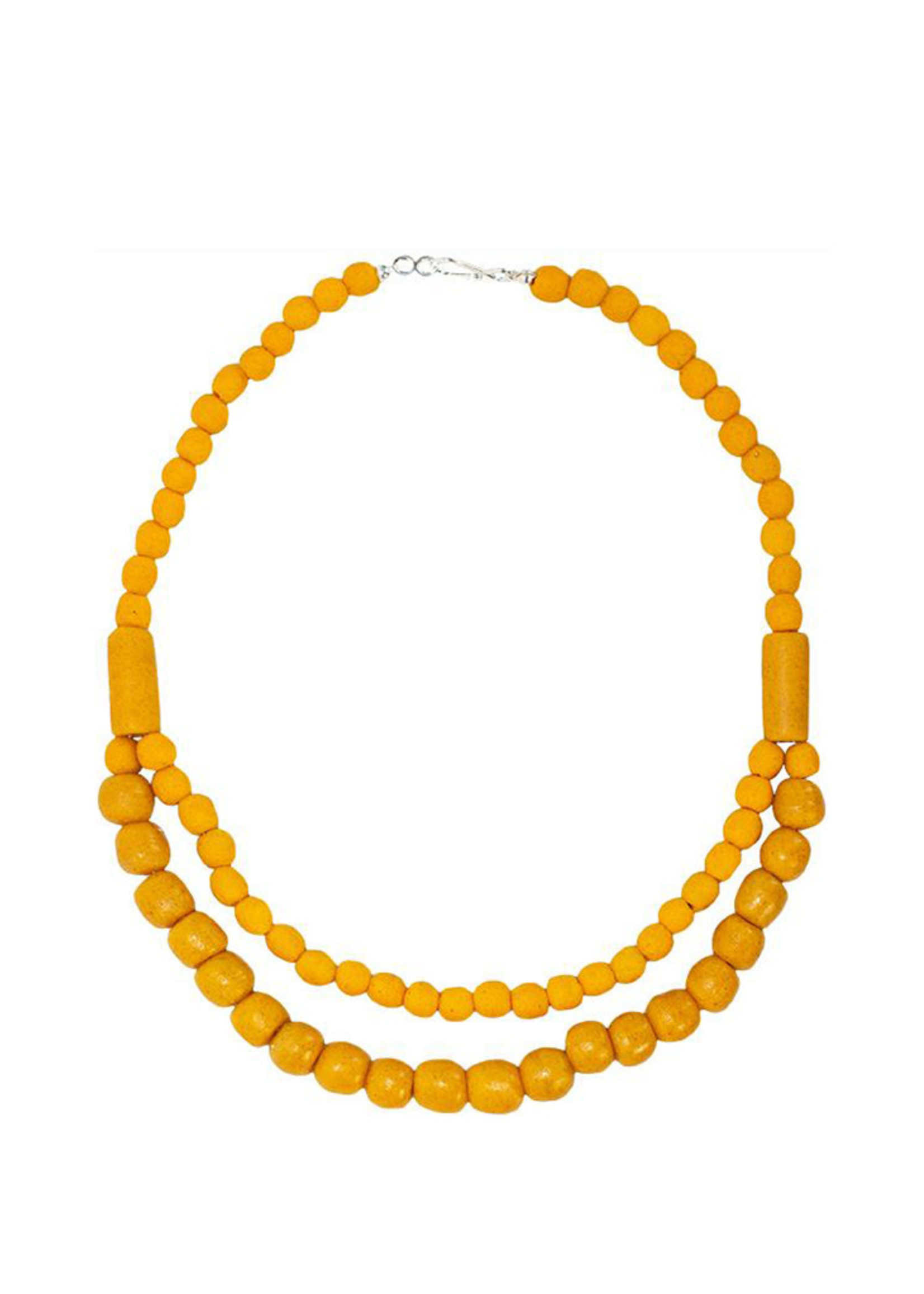 Global Mamas Pearls Statement Necklace