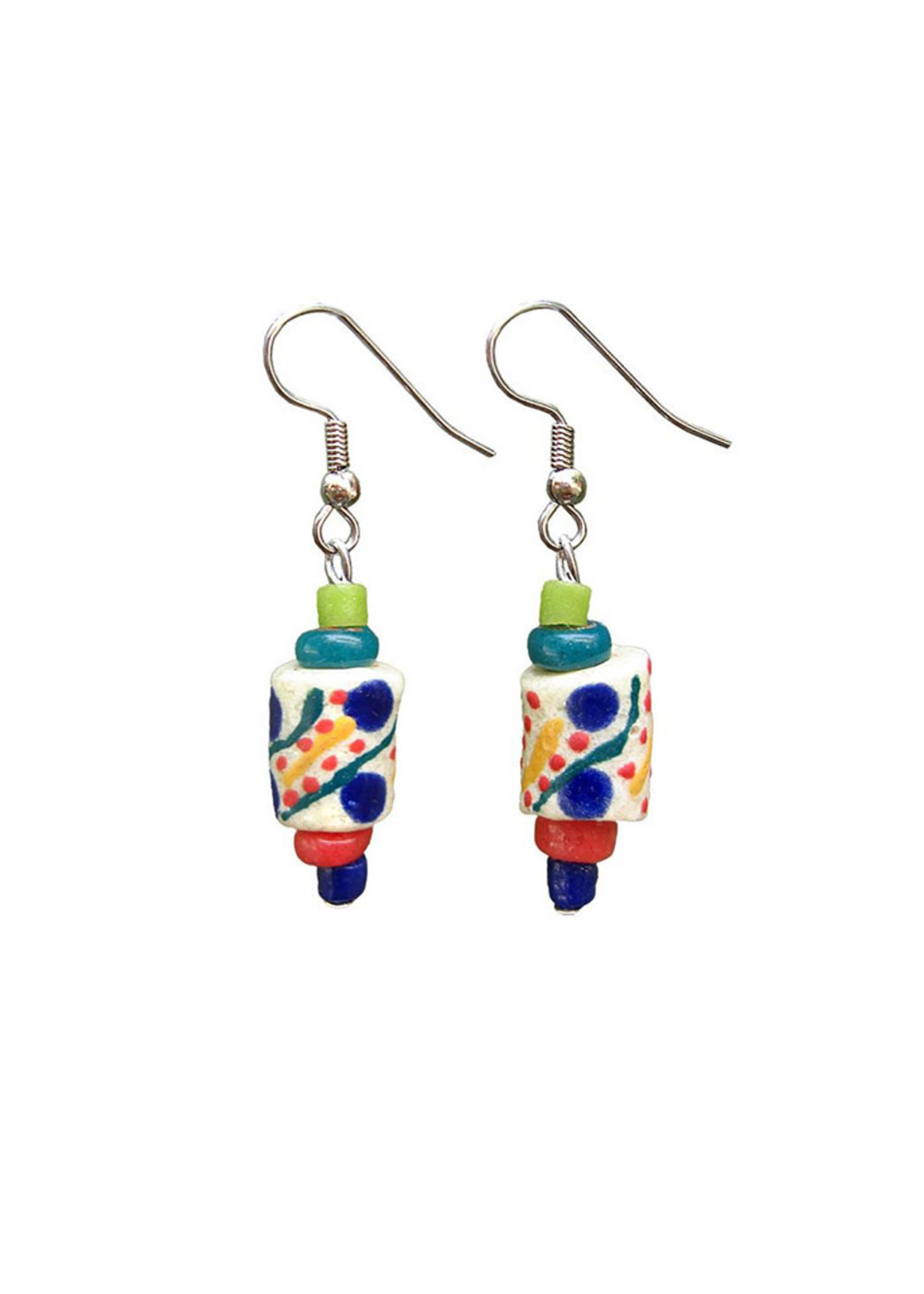 Global Mamas Festival Rainbow Earrings