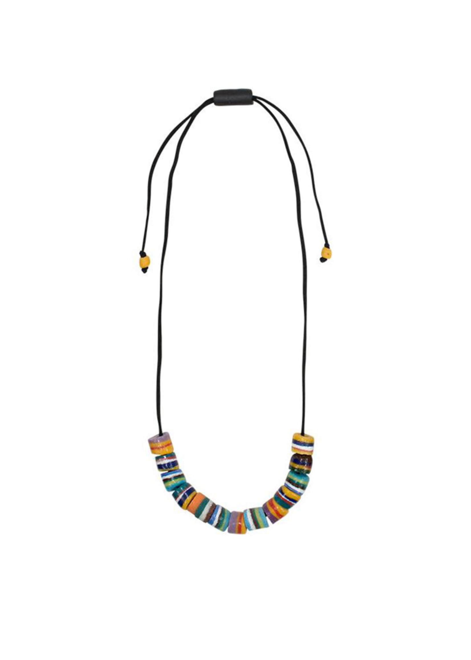 Global Mamas Rock Candy Rainbow Necklace
