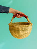 Small Market Natural Basket