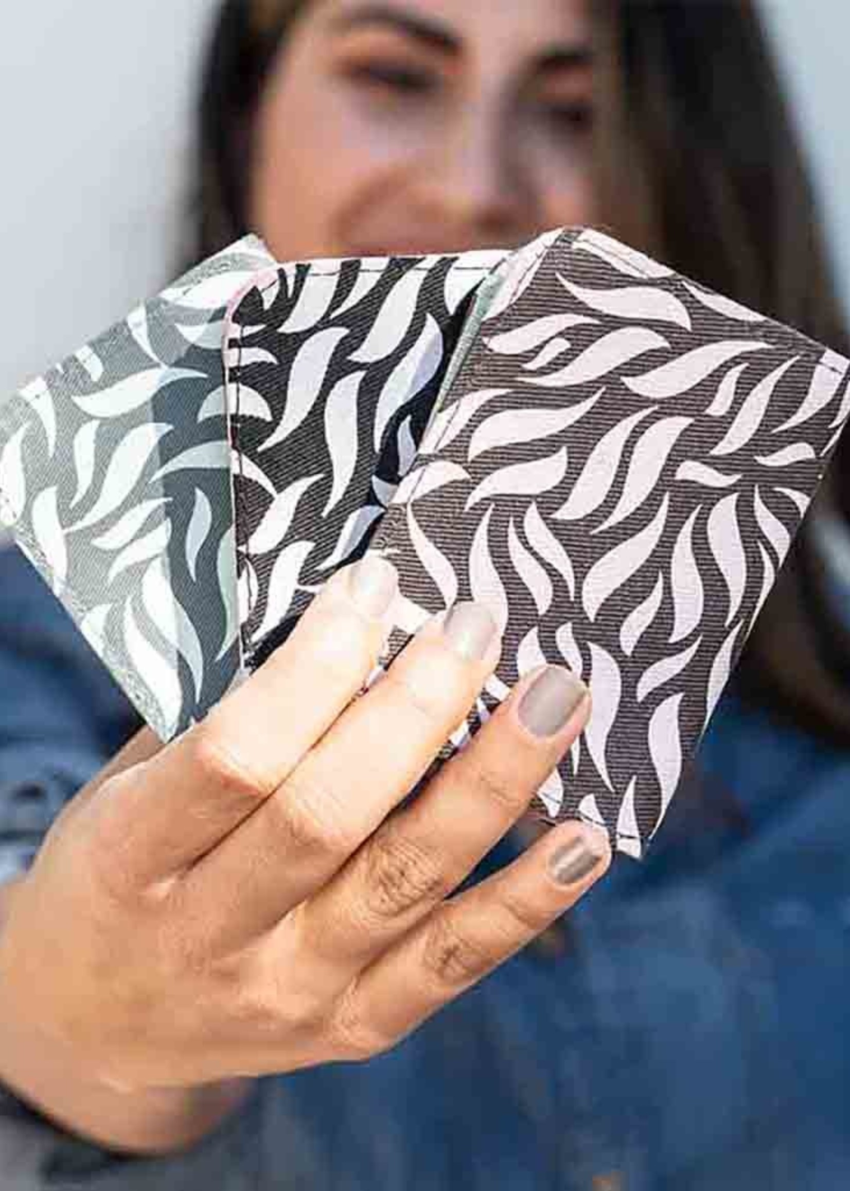 Malia Designs Cotton Card Holder