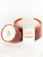 Bright Endeavors Pomegranate & Champagne Soy Candle