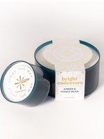 Bright Endeavors Amber & Tonka Bean Soy Candle
