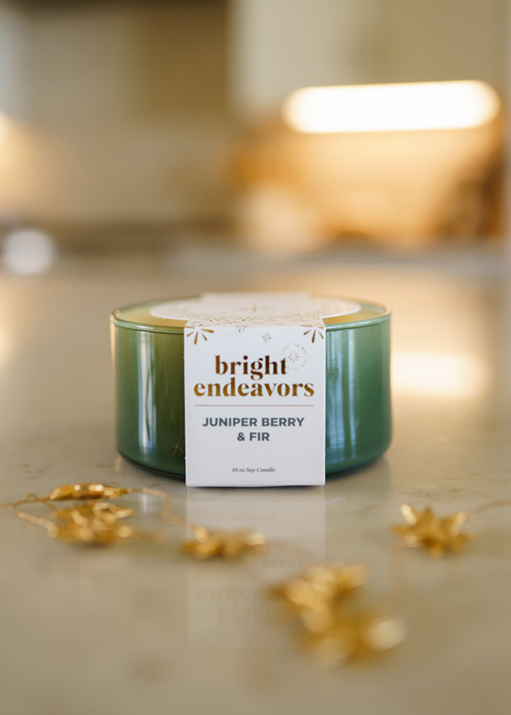 Bright Endeavors Juniper Berry & Fir Soy Candle
