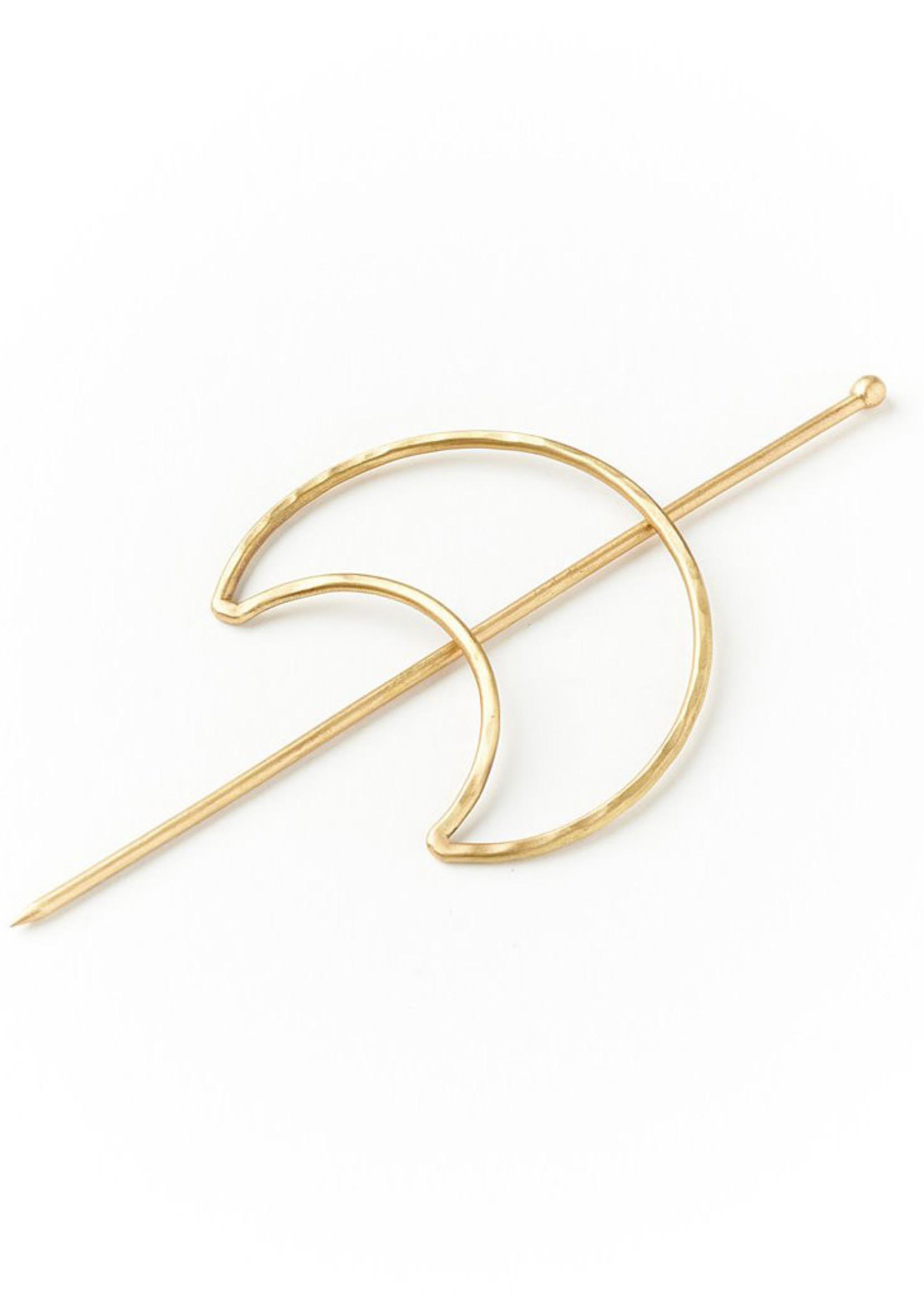 Matr Boomie Indukala Crescent Hair Pin