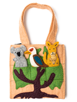Global Goods Partners Felt Australian Puppet Bag