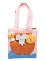 Global Goods Partners Felt Noah's Arc Puppet Bag