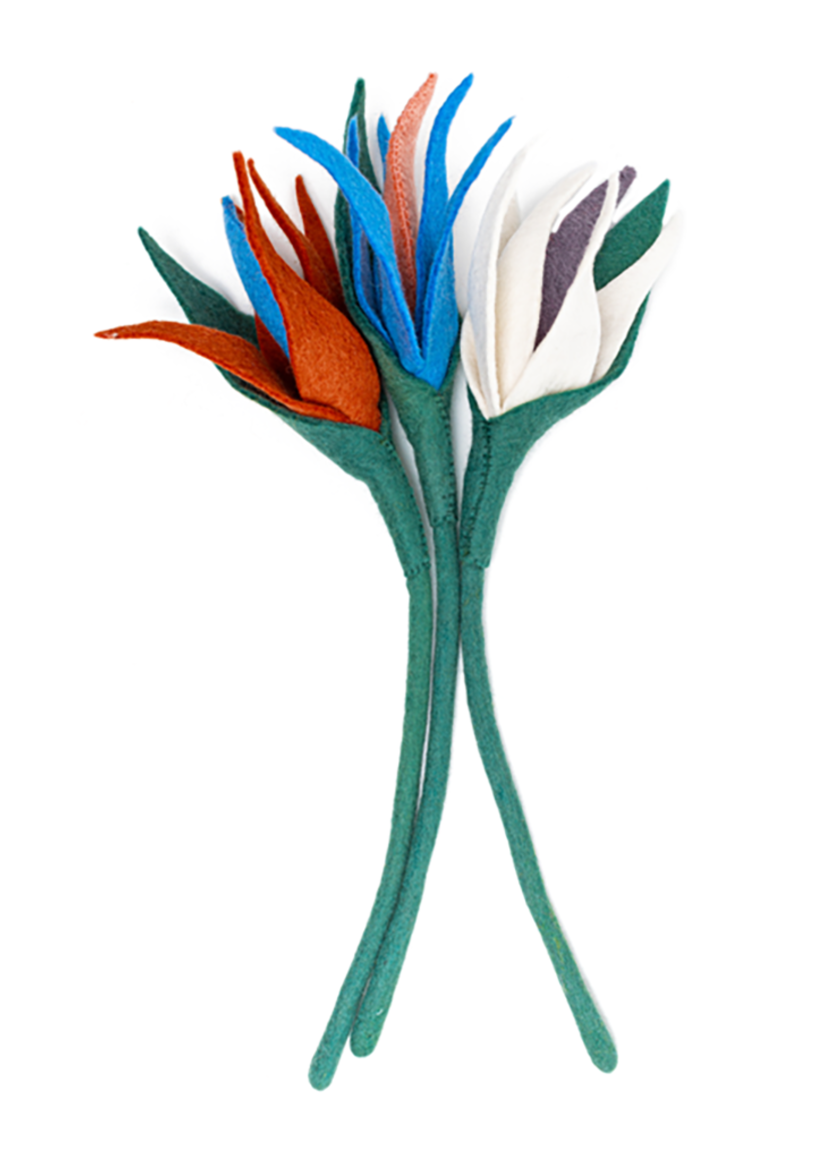Global Goods Partners Felt Bird of Paradise Flower
