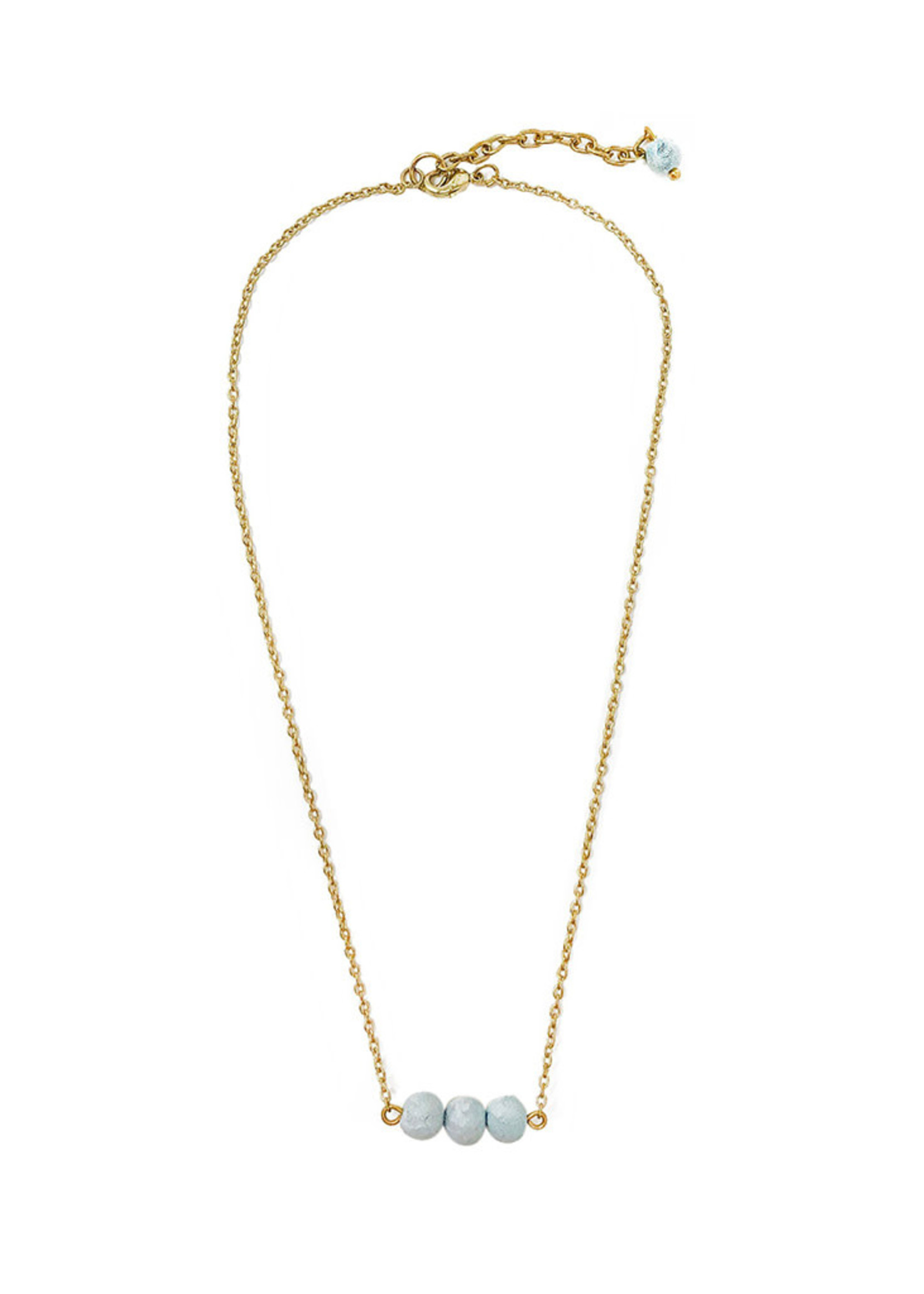 WorldFinds Blue Skies Pendant Necklace