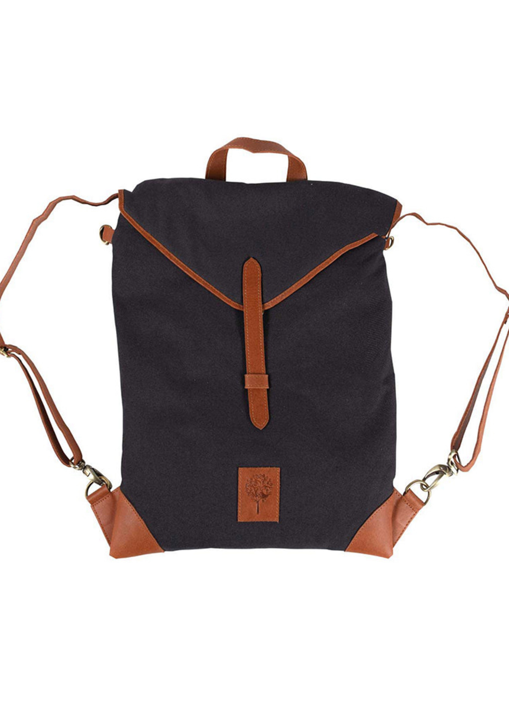 Convertible Canvas Backpack Bag