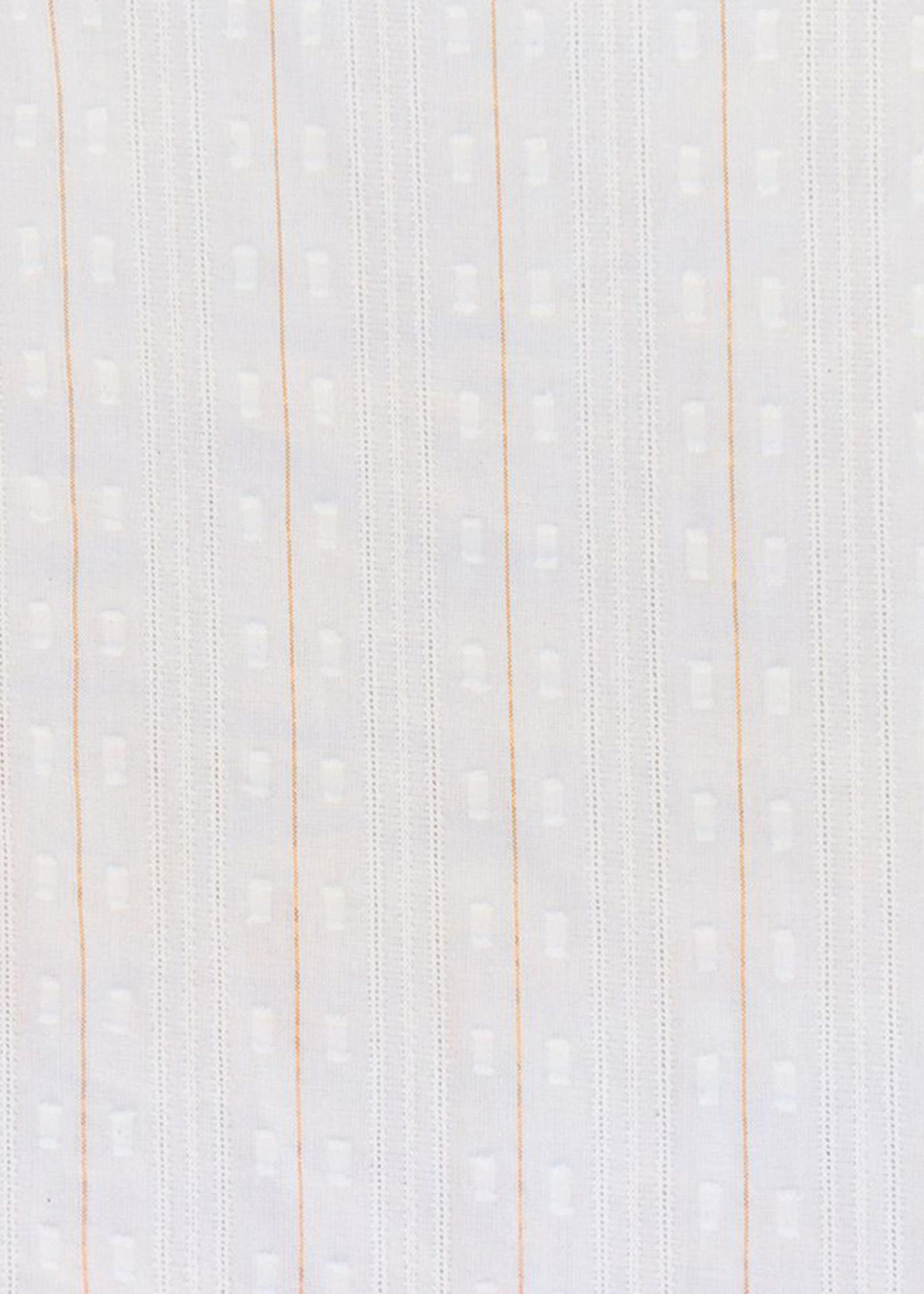 Mata Traders Ruth White Lurex Stripe Top