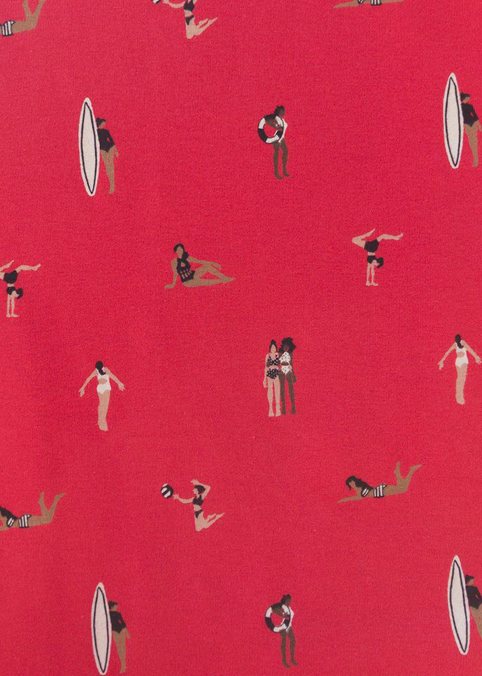 Mata Traders Ashville Red Swimmers Dress