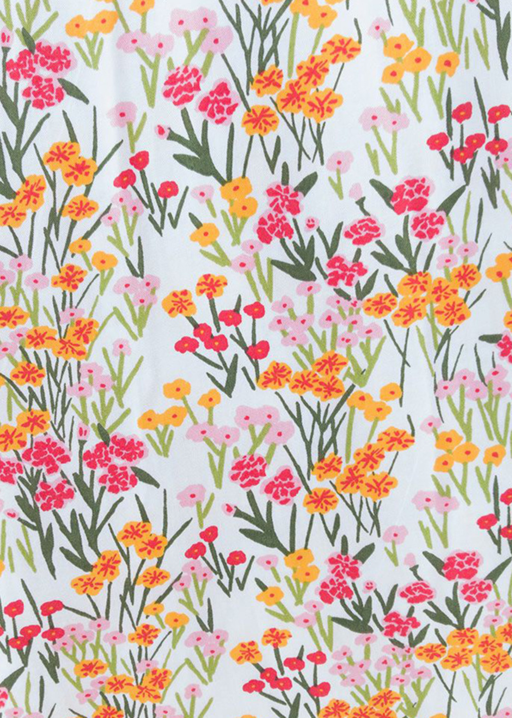 Mata Traders Artsy Traveler Pink Floral Midi Dress