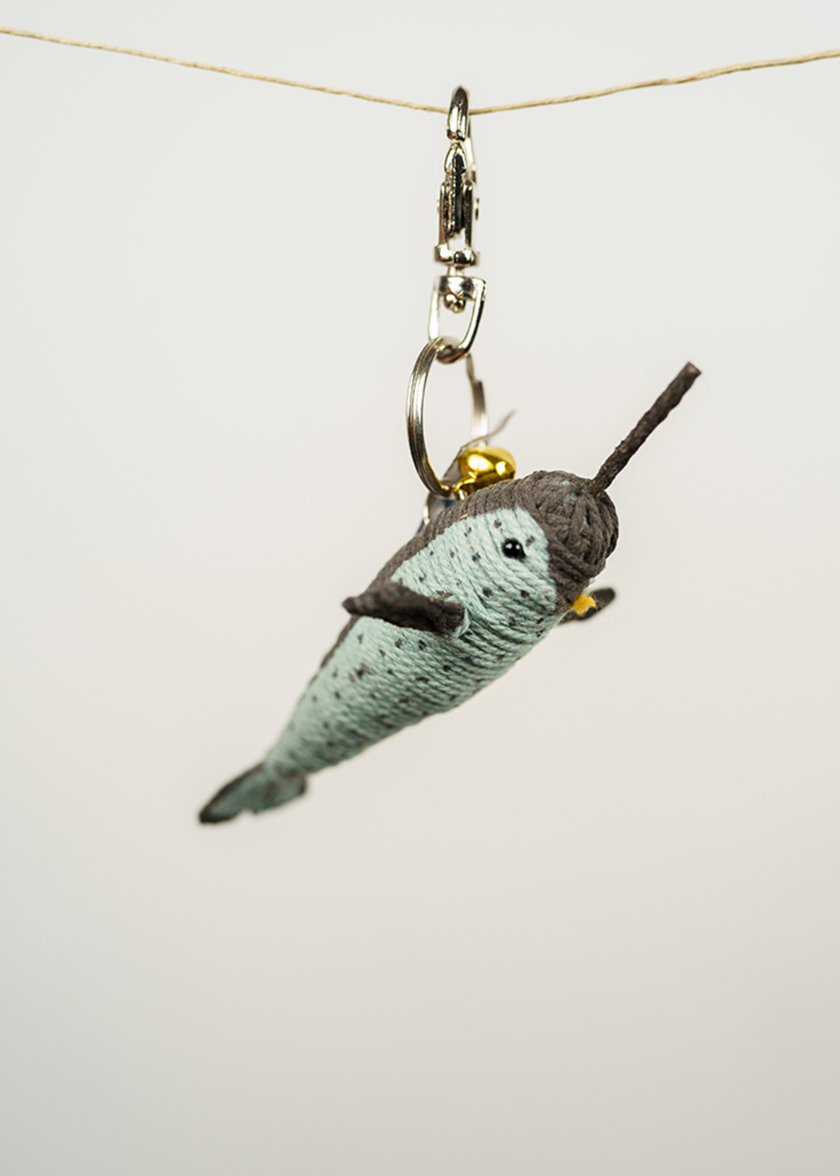 Nick the Narwhal String Doll