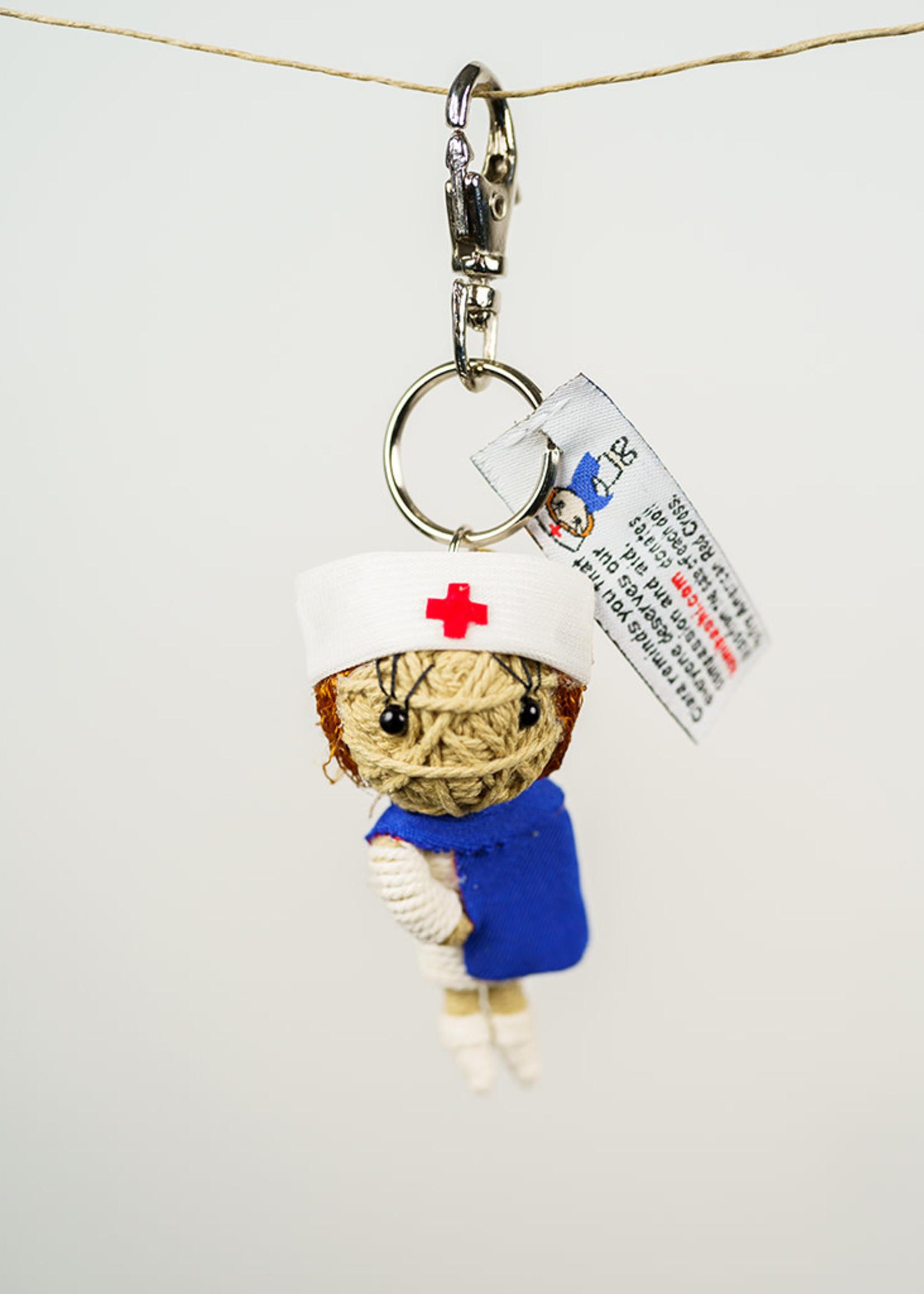 Nurse Clara String Doll